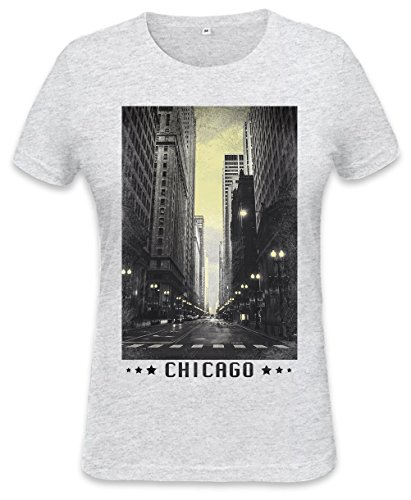 Chicago Vintage Womens T-shirt XX-Large (T-shirt Chicago Womens Retro)