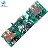 eHUB 5V 1A 2A Power Bank Charging Module Circuit Board Step Up Boost Power Supply Module 2A Dual USB