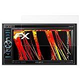 atFoliX Folie für Kenwood DNX450TR Displayschutzfolie - 2 x FX-Antireflex-HD hochauflösende entspiegelnde Schutzfolie