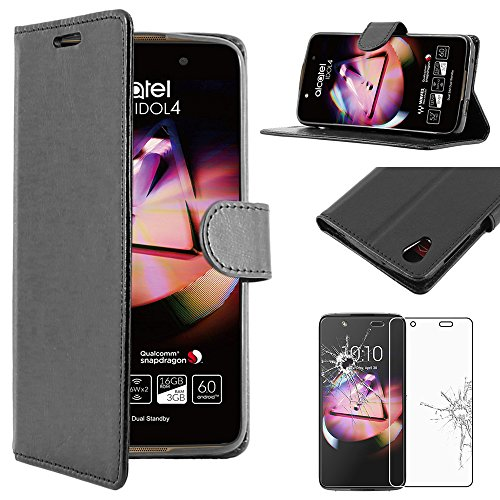 ebeststar-pour-alcatel-idol-4-52-pouces-housse-coque-etui-portefeuille-support-pu-cuir-film-protecti