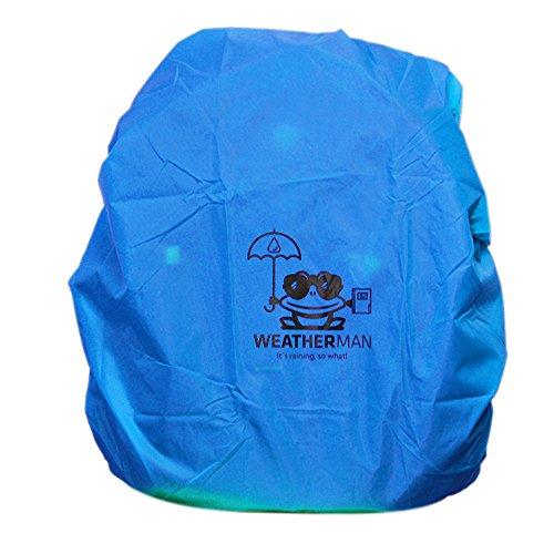 Weatherman Regenschutz für Schulranzen und Rucksäcke, Signalfarbe, mit Gummizug, Regenhülle, Sicherheitsüberzug, Sicherheitshülle, Schutzhülle, Regenschutzhülle Test
