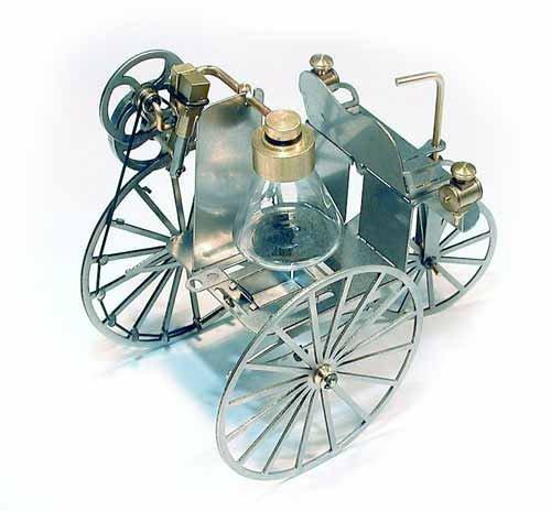 Dampfmaschine Auto Bausatz [Toy]