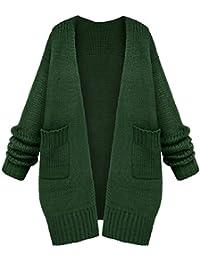 farblich passend Turnschuhe gute Textur Suchergebnis auf Amazon.de für: Strickmantel Grün: Bekleidung