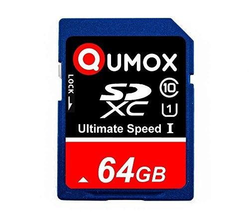 QUMOX 64GB SD XC 64 GB SDXC Class 10 UHS-posso rendere usato  Spedito ovunque in Italia