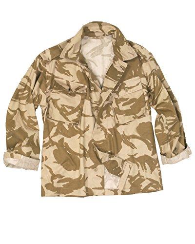 Echtem Britischen Armee Ausgestellt Desert Camo Field Shirt Stufe 1 -