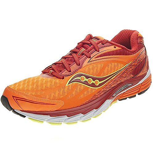 Saucony Ride 8, Scarpe sportive, Uomo RED/ORANGE/CITRON
