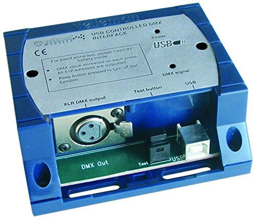 HQ - Interfaccia DMX a LED con controlli tramite porta USB - Usb Dmx Interface