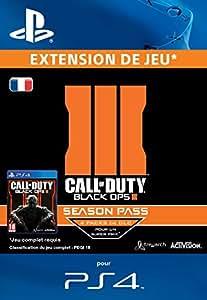 Call of Duty Black Ops 3 Season Pass [Extension De Jeu] [Code Jeu PSN PS4 - Compte français]