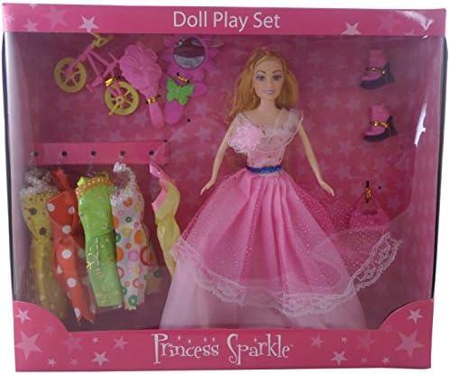 Princesse Étincelle Doll Playset avec Accessoires - Cadeaux pour pour pour les filles B01E04T5T8 6122c5