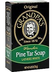 Grandpa's, Savon Wonder Pine Tar, 4.25 oz (120 g)
