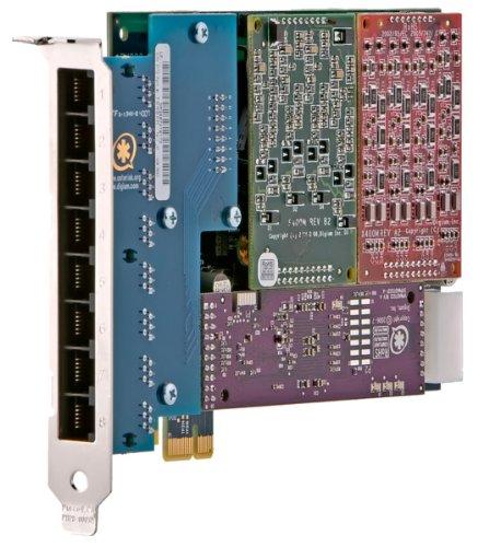 8-port Analog (Digium PCIe 8-Port analog Karte (AEX800P))