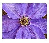 Liili Mauspad Natürliche Gummi Mousepads Schöne Big blau violett Clematis Blume Nahaufnahme Altes Holz Hintergrund 28607570