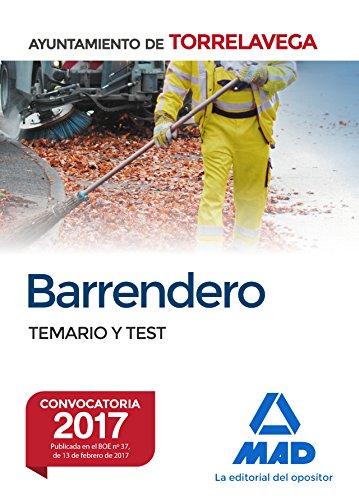 Barrendero del Ayuntamiento de Torrelavega. Temario y test