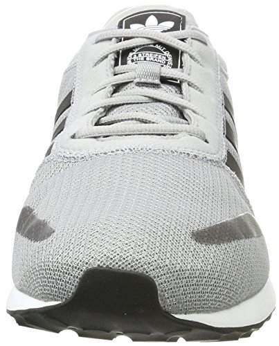 adidas Los Angeles, Unisex Adulto Scarpe da Corsa Grigio (Mid Grey)
