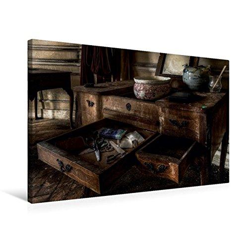 Premium Textile Toile 45cm x 30cm de Paysage Vieux Chateau en Belgique, 75 x 50 cm par Eleonore Swierczyna