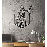 Adalet Sembolü-II Metal Duvar Tablosu-Metal Tablo-Duvar dekorasyonu