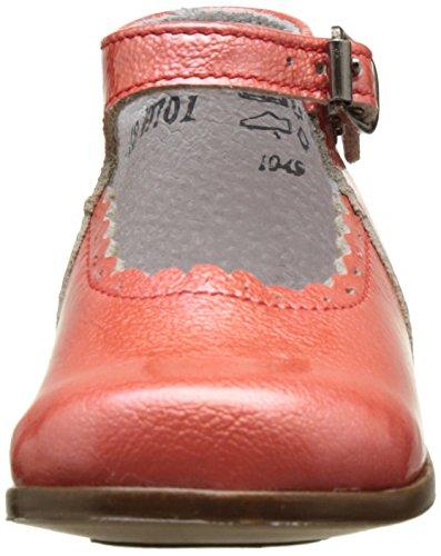 Little Mary Vocalise, Chaussures Premiers Pas Bébé Fille Orange (Apache Capucine)