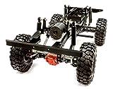 Integy RC Model Hop-ups C25759BLACK Billet Machined 1/10 Type D90 Roller 4WD Off-Road Scale Crawler ARTR
