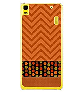 ifasho Designer Back Case Cover for Lenovo K3 Note :: Lenovo A7000 Turbo (Mapquest Xshare Line Array)
