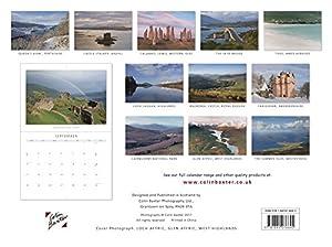 Scotland (Landscape) 2018 Calendar, by Colin Baxter