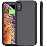 Cocoda Coque Batterie pour iPhone XS Max, 6000mAh Coque Chargeur de Protection...