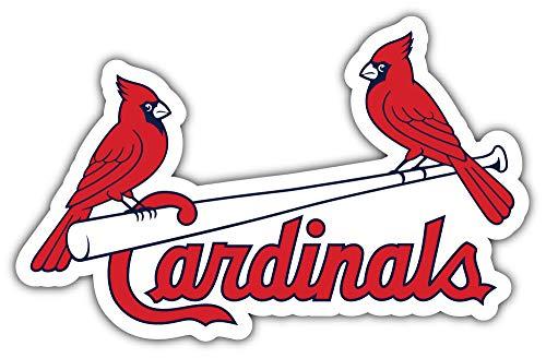 skyhighprint Aufkleber St. Louis Cardinals MLB Baseball Sport Decor Vinyl Print Sticker 35,6 x 25,4 cm