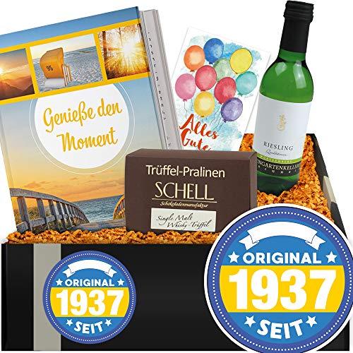 Original seit 1937 | Geschenkidee Wein + Buch | Geschenk für den Opa