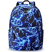 S-ZONE Lightning Stylish Backpack Rucksack School Bags for Teenager Girls Boys