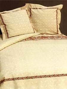 soleil d 39 ocre 374096 berwurf zebramuster 220 x 240 cm. Black Bedroom Furniture Sets. Home Design Ideas