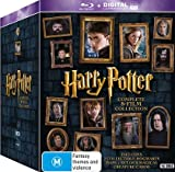 Harry Potter: Complete 8 Film Collection [USA] [Blu-ray]