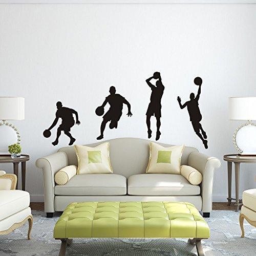 vinile-adesivo-da-parete-decalcomania-da-parete-basket-basket-sport-basket-decorazione-da-parete-ade