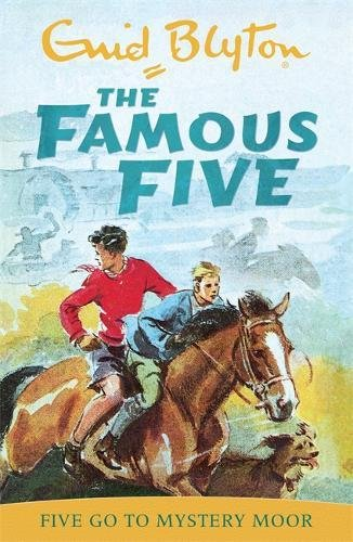 Five Go To Mystery Moor: Classic cover edition: Book 13 (Famous Five)