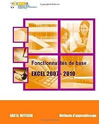 Fonctionnalités de base Excel 2007 - 2010