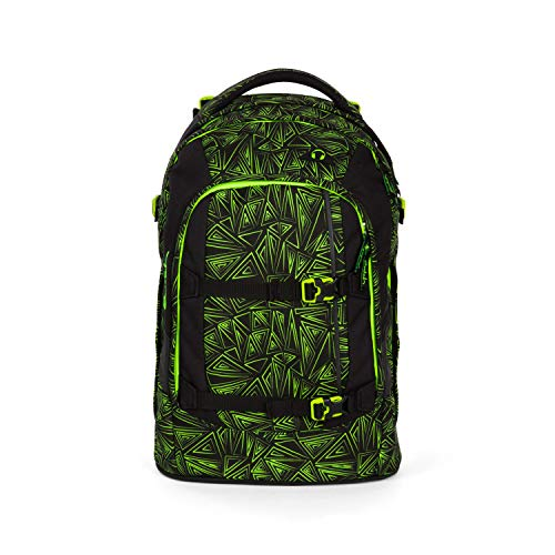 cher Schulrucksack für Mädchen und Jungen - Green Bermuda ()