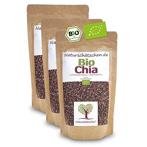 Bio Chia Samen in geprüfter Bio-Qualität (DE-ÖKO-22)