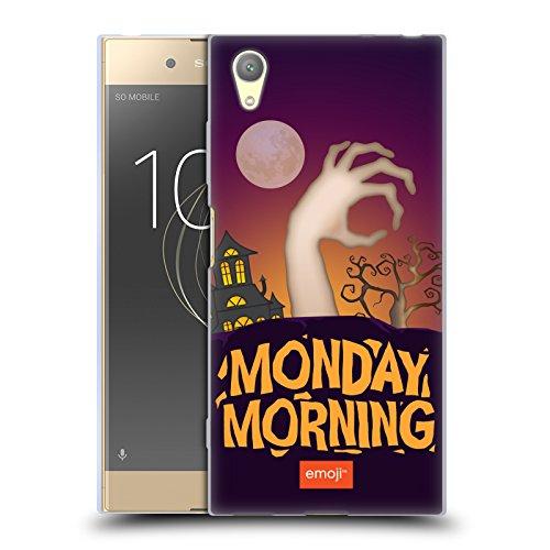 Offizielle Emoji Montagmorgen Halloween Parodien Soft Gel Hülle für Sony Xperia XA1 Plus