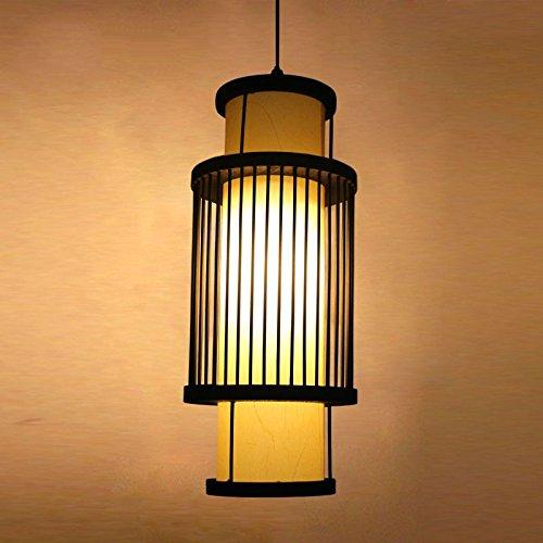 XBR der Speisesaal japanischen Studie Herde Persönlichkeit Kreative Kronleuchter Bambus-Lampe, Aucune Source Lumineuse (Home-source-bambus)