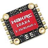 4 in 1 10A ESC BLHeli_S Regolatore di velocità elettrico 1-2 s Supporto LiPo Dshot150 / 300/600 Oneshot125 Multishot PWM Compatibile con 1104-1105 7500KV Motore per FPV Racing Drone