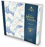 GOCKLER® 3 Jahres Kalender: 190+ Seiten Journal für 3 Jahre || Glänzendes Softcover || Ideal als Tagebuch, Terminplaner, Notizkalender oder Tagesplaner || DesignArt.: Light Blue