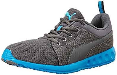 Puma Men's Carson Runner Dp Quiet Shade and Blue Danube Running Shoes - 10 UK/India (44.5 EU)