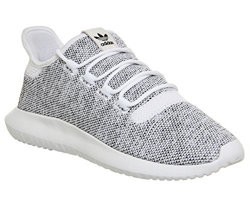 adidas Tubular Shadow Knit, Chaussures de Running Homme blanc noir