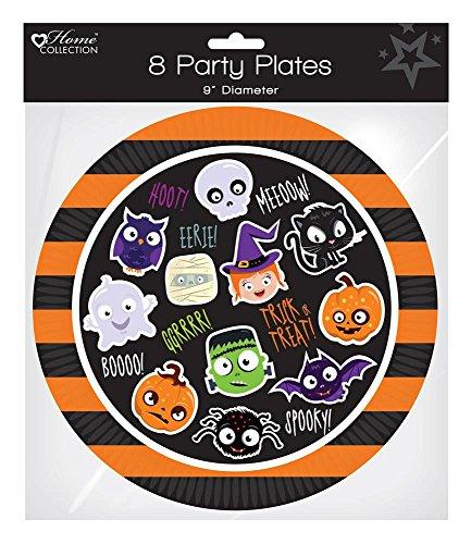 Party Teller 22,9cm-Halloween Party Feier ()