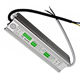 15W - 300W IP67 Waterproof LED Transformer Driver Power Supply for Strip DC 12V (60W)