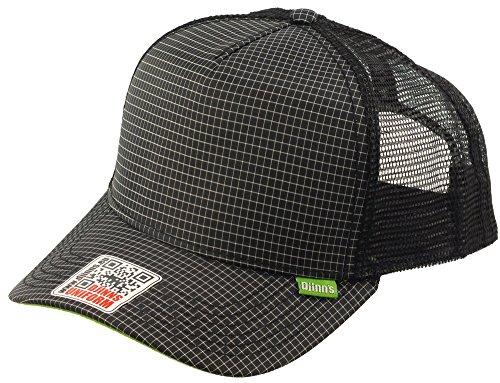 Djinns Herren Caps / Trucker Cap Needlecheck II High schwarz Verstellbar