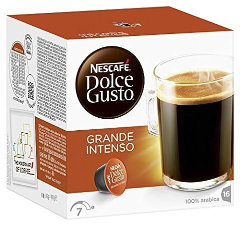 Nescafé Dolce Gusto Grande Intenso, Lot de 3(3x 160g)