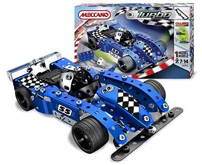 Meccano 886353 - Turbo Evolution Blue por Meccano