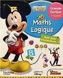 Maths Logique La Maison de Mickey - Grande Section 5-6 ans