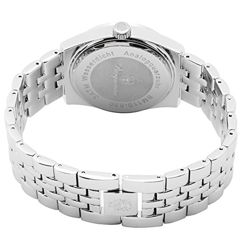 Burgmeister-Mens-Quartz-Watch-with-Silver-Dial-Analogue-Display-and-Silver-Stainless-Steel-Bracelet-BM119-890