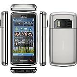 """Nokia C6-01.3-Smatphone-Movistar-débloqués-(8.13 cm (3.2 """"), 640 x 360 pixels, multi-touch, 340 Mo, 32 Go, 8 MP-Argent"""