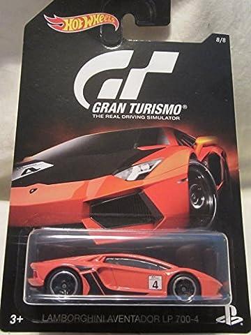 2016 Hot Wheels GRAN TURISMO LAMBORGHINI AVENTADOR LP 700-4 Limited Edition 1:64 Scale Collectible Die Cast Metal Toy Car Model! by LAMBORGHINI